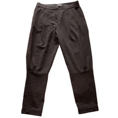 Pantalon droit ADOLFO DOMINGUEZ Noir
