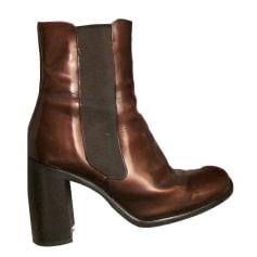 Bottines & low boots à talons BALDININI cuir irisé noir 37 IwdpNCyq