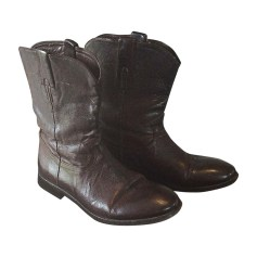 Bottes PAUL SMITH Marron