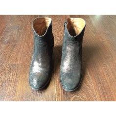 Bottines & low boots à talons ATELIER AUGUSTE Marron