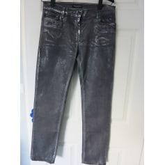 Jeans droit CARLA KOPS Gris 5e1c76f1f