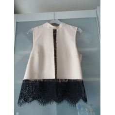 Top, tee-shirt MISS SELFRIDGE Rose, fuschia, vieux rose