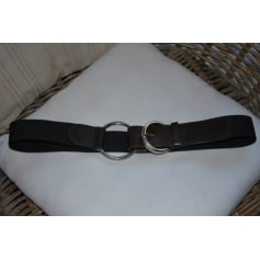Wide Belt SUD EXPRESS Noire et marron