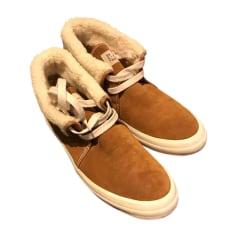 Lace Up Shoes PAUL & JOE Beige, camel