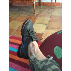 Chaussures à lacets  ANNIEL Kaki