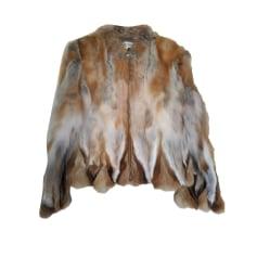 Fur Jackets GERARD DAREL Beige, camel