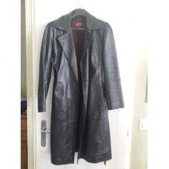 Manteau en cuir REDSKINS Noir