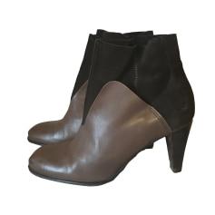 Bottines & low boots à talons ATELIER DO SAPATO Marron