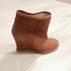 Bottines & low boots à compensés SAN MARINA Beige, camel