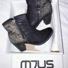 Bottines & low boots à talons MJUS Noir