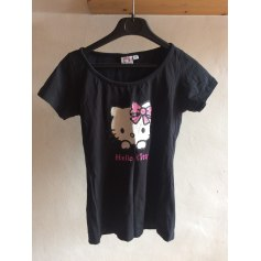 d4a157d612397 Top, tee-shirt HELLO KITTY Noir