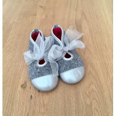 Slippers JACADI Gray, charcoal