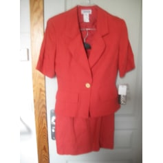 Skirt Suit SYNONYME DE GEORGE RECH Corail, Rouge