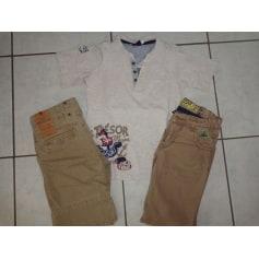 Shorts Set, Outfit SERGENT MAJOR Beige, camel