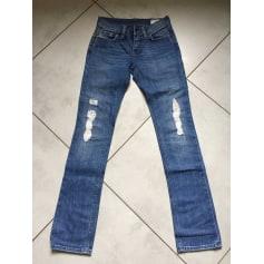Jeans slim DIESEL Bleu, bleu marine, bleu turquoise