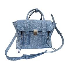 Sac en bandoulière en cuir 3.1 PHILLIP LIM Pashli Bleu, bleu marine, bleu turquoise