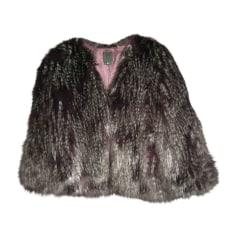 Fur Jackets ANNA SUI Purple, mauve, lavender