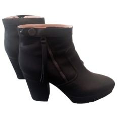 Bottines & low boots à talons ACNE Noir