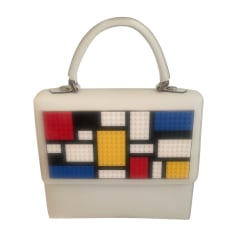 Leather Handbag LES PETITS JOUEURS Multicolor