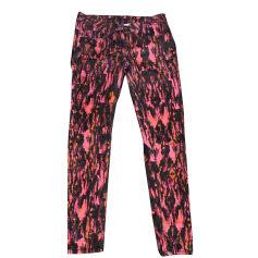 Skinny Pants, Cigarette Pants SANDRO Multicolor