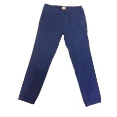 Pantalon slim, cigarette BELLEROSE Bleu, bleu marine, bleu turquoise