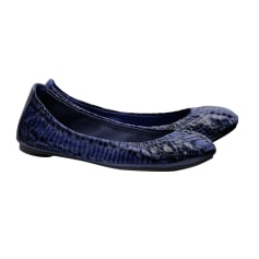 Ballet Flats TORY BURCH Blue, navy, turquoise