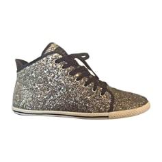 Sneakers MARC JACOBS Silberfarben, stahlfarben