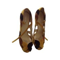Sandali con tacchi MIU MIU Multicolore
