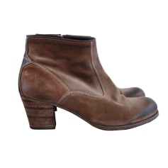 Bottines & low boots à talons N.D.C. MADE BY HAND Beige, camel