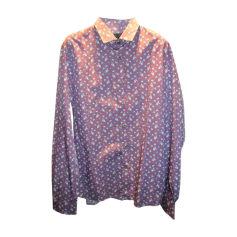 Camicia PRADA Blu, blu navy, turchese