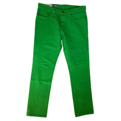 Jeans slim ABERCROMBIE & FITCH Vert