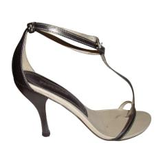 Sandales à talons PASTELLE Doré, bronze, cuivre