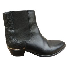 Bottines & low boots motards AMERICAN RETRO Noir