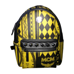 Backpack MCM Yellow