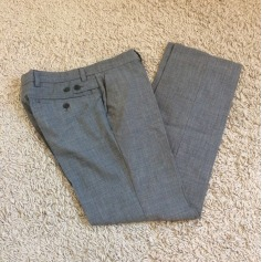 Pantalon de costume BILLTORNADE Gris, anthracite