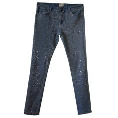 Jeans slim AMERICAN RETRO Blu, blu navy, turchese