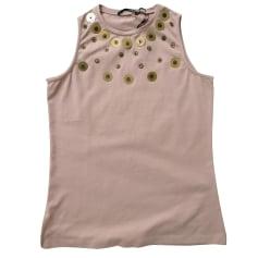 Top, tee-shirt ARMAND BASI Old pink