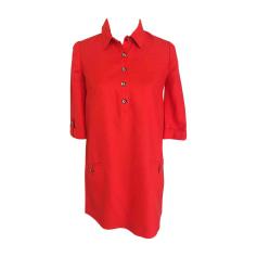 Robe courte AZZARO Rouge, bordeaux