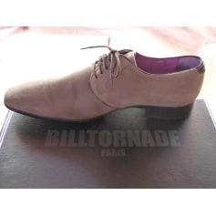 Chaussures à lacets BILLTORNADE Beige, camel