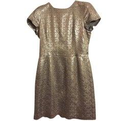 Midi Dress TARA JARMON Silver