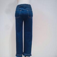 Jeans droit MANOUSH Bleu, bleu marine, bleu turquoise