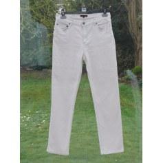 Jeans droit APOSTROPHE beige sable