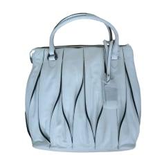 Leather Handbag COCCINELLE White, off-white, ecru