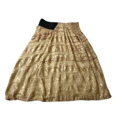 Midi Skirt WILLOW Golden, bronze, copper