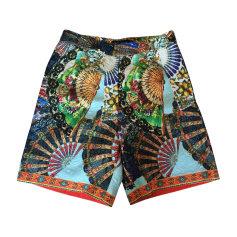 Pantalone largo DOLCE & GABBANA Multicolore