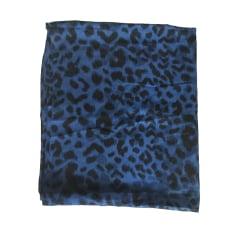 Tuch, Schal SANDRO Blau, marineblau, türkisblau