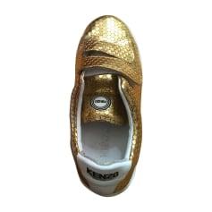 Baskets KENZO Doré, bronze, cuivre