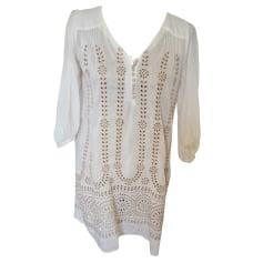 Robe tunique GERARD DAREL Blanc, blanc cassé, écru