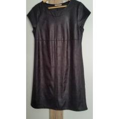 Robe de soiree noire camaieu