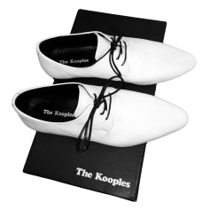 Lace Up Shoes THE KOOPLES White, off-white, ecru